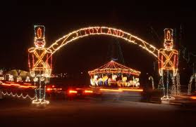 christmas light park near me top holiday light displays in oklahoma travelok com oklahoma s