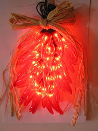 red chili pepper lights red chili ristra pepper lights novelty party lights