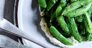 herbes cuisine sugar snap lime ricotta and fines herbes salad recipe gourmet