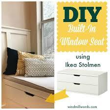 Making A Bay Window Seat - best 25 window seat ikea ideas on pinterest storage bench seat