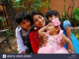 islamabad 10th may 2015 a plays with child