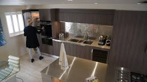 design kitchens uk this designer kitchen with runway breakfast bar and penarth marina