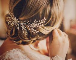 hair accesories wedding hair jewelry etsy