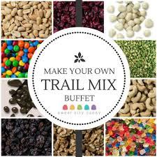make your own buffet table trail mix gavin s 1st pinterest trail mix buffet