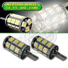 Led Light Bulbs For Travel Trailers by T10 T15 Natural White Interior Led Light Bulbs Leisure Rv Parts
