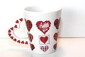 Heart Shaped Mug by Maxwell Williams Gardens Table Royal Botanic Australia Fine China