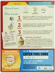 amazon com betty crocker yellow cake mix 15 25 oz grocery