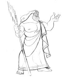 zeus coloring page god zeus coloring pages hellokids picture 11268