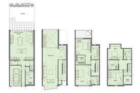 Duplex With Garage Plans Modern Town House Plans Duplex House Plans Sloping Lot Plans In