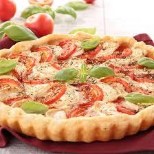 cuisine tomate recette tarte chèvre et tomate