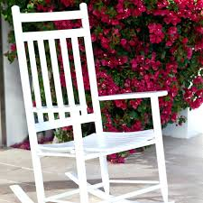 Rocking Chair Canada Null Glossy White Wood Outdoor Rocking Chairoutdoor Glider Chair