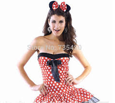 Minnie Mouse Halloween Costume Toddler Compare Prices Minnie Mouse Red Headbands Shopping Buy