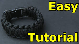 diy paracord bracelet instructions images Easy paracord bracelet tutorial king cobra jpg
