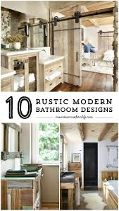rustic modern bathroom designs modern bathroom design rustic