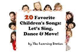 20 favorite children u0027s songs let u0027s sing dance u0026 move the