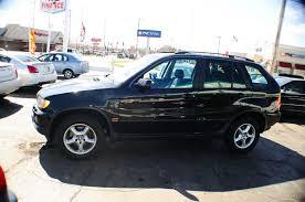 2002 bmw x5 black 4dr 4x4 suv