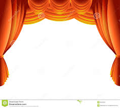 stage curtain stock photo image 9255850