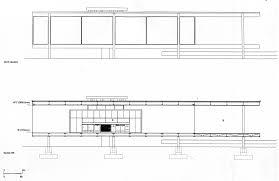 Mies Van Der Rohe Floor Plan by Corte Png 1600 1272 Arq Planos Y Secciones Pinterest