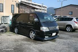 toyota dealer japan tuned vans in japan r32taka