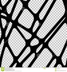 spider web transparent background black connected lines on white abstract background stock