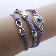 vintage infinity bracelet images Evil eye and turkey rope infinity bracelet zubehor jpg