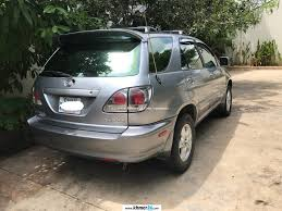 lexus rx300 driver seat lexus rx300 suv 2001 no driver silver color for rent in phnom penh