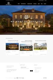 luxury real estate branding website blonde design studio