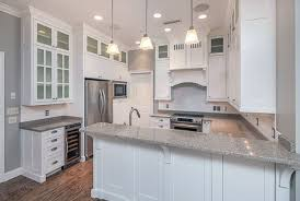 Kitchen Cabinets Kitchen Counter Height In Inches Granite by 27 Gorgeous Kitchen Peninsula Ideas Pictures Designing Idea