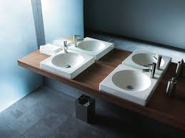 narrow wall mount sink shallow bathroom sinks from under sink