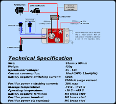 battery kill switch isolator electronic cartek stable energies