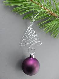 tree ornament hangers wire ornament