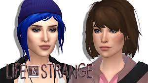 sims 4 custom content hair the sims 4 i life is strange i max chloe katverse