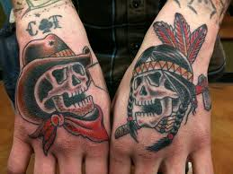 collection of 25 cowboy skulls