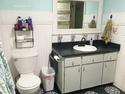 paint formica bathroom cabinets i chalk painted my countertops lolly jane