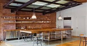evier cuisine style ancien décoration cuisine style industriel idee deco industrielle pour