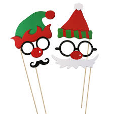 christmas photo booth props 62pcs merry christmas photo booth props christmas party accessory