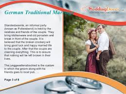 polterabend flyer german traditional marriage