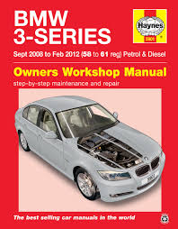 bmw 3 series sept 08 to feb 12 haynes repair manual haynes