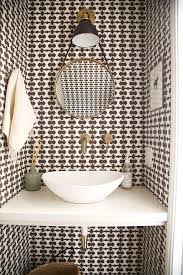 wallpaper bathroom designs 48 best bathroom wallpaper images on bathroom