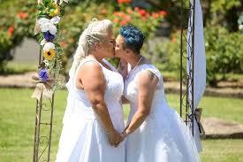 wedding arch ebay australia blushing brides become australia s to say i do