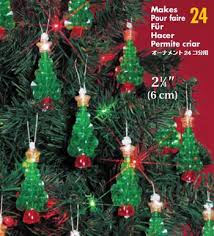 the beadery mini trees beaded christmas ornament kit 123stitch com
