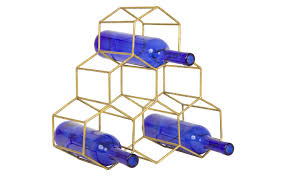 hex wine rack jayson home