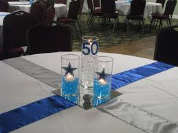 theme centerpiece dallas cowboy theme centerpiece expressions etc