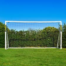12 x 6 forza soccer goal post net world sports