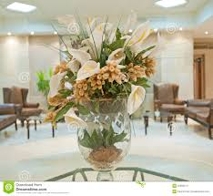 Hotel Flower Decoration Flower Display In A Hotel Lobby Stock Images Image 25982614