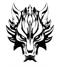 dark wolf u0027s head concept tattoo ideas concepts and art