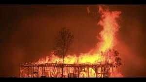 California Wildfire Ranking by Gotta Get Out Of Here California Deputy Races Through Flames In