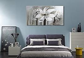 amazon com seekland art hand painted flower oil painting on