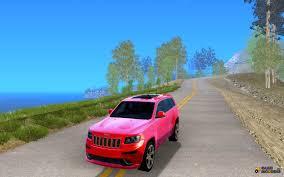 blue jeep grand cherokee srt8 grand cherokee srt8 for gta san andreas