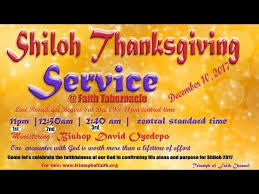 shiloh 2017 thanksgiving service december 10 2017